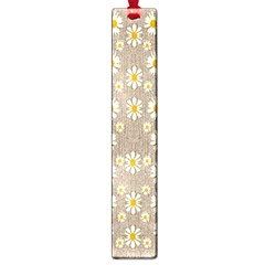 Star Fall Of Fantasy Flowers On Pearl Lace Large Book Marks by pepitasart