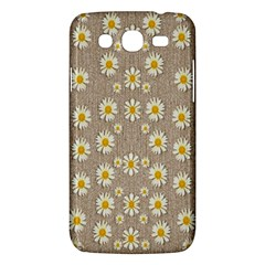 Star Fall Of Fantasy Flowers On Pearl Lace Samsung Galaxy Mega 5 8 I9152 Hardshell Case  by pepitasart