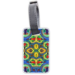 L?¯opera In Lyrical Abstraction Luggage Tag (two Sides)
