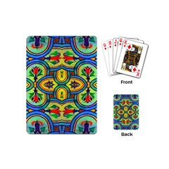 L ooera In Lyrical Abstraction Playing Cards (mini)