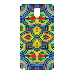 L ooera In Lyrical Abstraction Samsung Galaxy Note 3 N9005 Hardshell Back Case