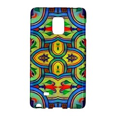 L?¯opera In Lyrical Abstraction Samsung Galaxy Note Edge Hardshell Case