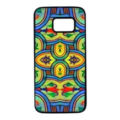 L ooera In Lyrical Abstraction Samsung Galaxy S7 Black Seamless Case