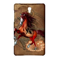 Awesome Horse  With Skull In Red Colors Samsung Galaxy Tab S (8 4 ) Hardshell Case  by FantasyWorld7