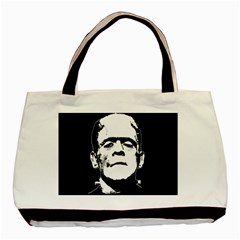 Frankenstein s Monster Halloween Basic Tote Bag (two Sides) by Valentinaart
