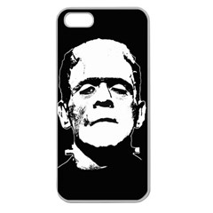 Frankenstein s Monster Halloween Apple Seamless Iphone 5 Case (clear)