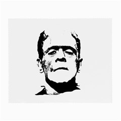 Frankenstein s Monster Halloween Small Glasses Cloth (2 Side) by Valentinaart