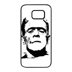 Frankenstein s Monster Halloween Samsung Galaxy S7 Edge Black Seamless Case by Valentinaart