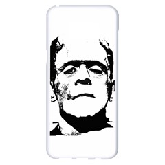 Frankenstein s Monster Halloween Samsung Galaxy S8 Plus White Seamless Case
