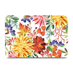 Autumn Flowers Pattern 1 Plate Mats by tarastyle