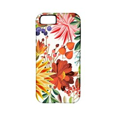 Autumn Flowers Pattern 1 Apple Iphone 5 Classic Hardshell Case (pc+silicone) by tarastyle