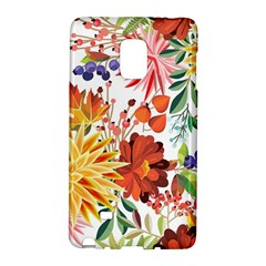 Autumn Flowers Pattern 1 Galaxy Note Edge by tarastyle