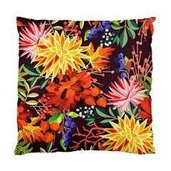Autumn Flowers Pattern 2 Standard Cushion Case (one Side) by tarastyle