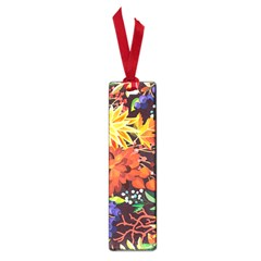 Autumn Flowers Pattern 2 Small Book Marks by tarastyle