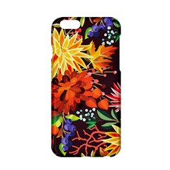 Autumn Flowers Pattern 2 Apple Iphone 6/6s Hardshell Case by tarastyle