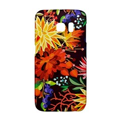 Autumn Flowers Pattern 2 Galaxy S6 Edge by tarastyle