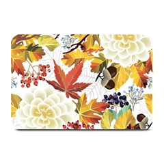 Autumn Flowers Pattern 3 Plate Mats by tarastyle