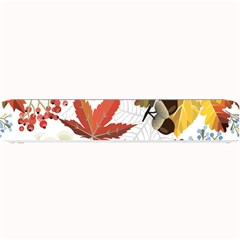 Autumn Flowers Pattern 3 Small Bar Mats by tarastyle