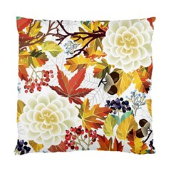 Autumn Flowers Pattern 3 Standard Cushion Case (two Sides) by tarastyle