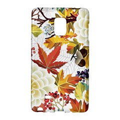 Autumn Flowers Pattern 3 Galaxy Note Edge by tarastyle