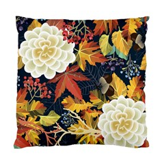 Autumn Flowers Pattern 4 Standard Cushion Case (two Sides) by tarastyle