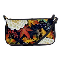Autumn Flowers Pattern 4 Shoulder Clutch Bags by tarastyle