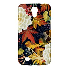 Autumn Flowers Pattern 4 Samsung Galaxy Mega 6 3  I9200 Hardshell Case