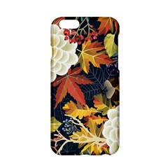 Autumn Flowers Pattern 4 Apple Iphone 6/6s Hardshell Case by tarastyle