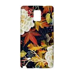 Autumn Flowers Pattern 4 Samsung Galaxy Note 4 Hardshell Case by tarastyle