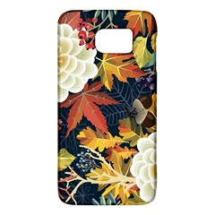 Autumn Flowers Pattern 4 Galaxy S6 by tarastyle