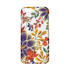 Autumn Flowers Pattern 5 Apple Iphone 6/6s Hardshell Case by tarastyle