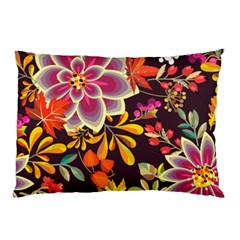 Autumn Flowers Pattern 6 Pillow Case by tarastyle