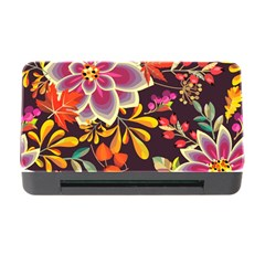Autumn Flowers Pattern 6 Memory Card Reader With Cf by tarastyle