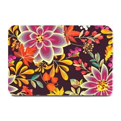 Autumn Flowers Pattern 6 Plate Mats by tarastyle