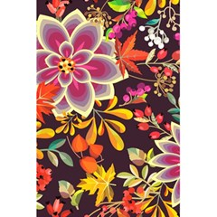 Autumn Flowers Pattern 6 5 5  X 8 5  Notebooks by tarastyle