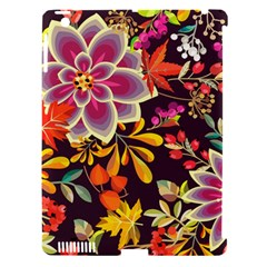Autumn Flowers Pattern 6 Apple Ipad 3/4 Hardshell Case (compatible With Smart Cover) by tarastyle