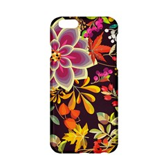 Autumn Flowers Pattern 6 Apple Iphone 6/6s Hardshell Case by tarastyle