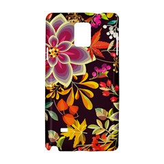 Autumn Flowers Pattern 6 Samsung Galaxy Note 4 Hardshell Case by tarastyle