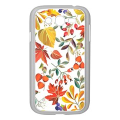 Autumn Flowers Pattern 7 Samsung Galaxy Grand Duos I9082 Case (white) by tarastyle