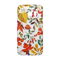 Autumn Flowers Pattern 7 Galaxy S6 Edge by tarastyle
