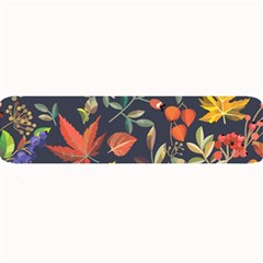Autumn Flowers Pattern 8 Large Bar Mats by tarastyle