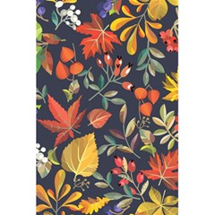 Autumn Flowers Pattern 8 5 5  X 8 5  Notebooks by tarastyle