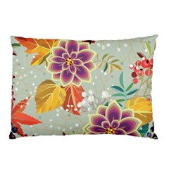 Autumn Flowers Pattern 9 Pillow Case (two Sides) by tarastyle