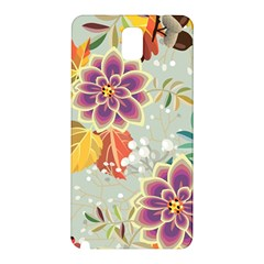 Autumn Flowers Pattern 9 Samsung Galaxy Note 3 N9005 Hardshell Back Case by tarastyle
