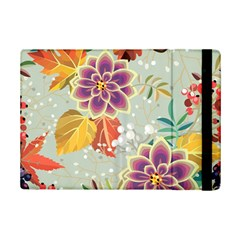 Autumn Flowers Pattern 9 Ipad Mini 2 Flip Cases by tarastyle
