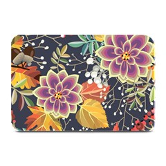 Autumn Flowers Pattern 10 Plate Mats by tarastyle