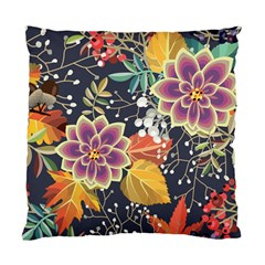 Autumn Flowers Pattern 10 Standard Cushion Case (one Side) by tarastyle