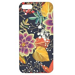 Autumn Flowers Pattern 10 Apple Iphone 5 Hardshell Case With Stand by tarastyle
