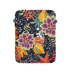 Autumn Flowers Pattern 10 Apple Ipad 2/3/4 Protective Soft Cases by tarastyle