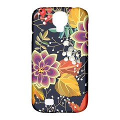 Autumn Flowers Pattern 10 Samsung Galaxy S4 Classic Hardshell Case (pc+silicone) by tarastyle
